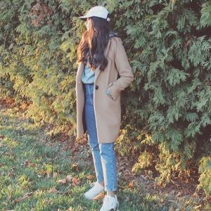 Zara Wool Blend Coat